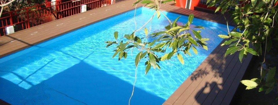 A piscina do St. John's