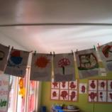 Photo of classwork.