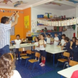 Photo of a music class.